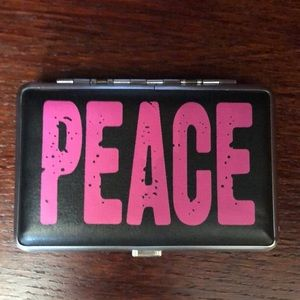 IN THE NAME OF PEACE ☮️ money/Card case NWT